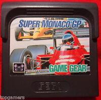 Super Monaco GP - Grand Prix Racing - SEGA Game Gear GG