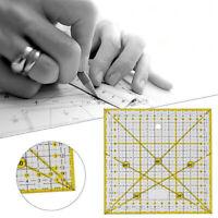 15*15cm Quilten Patchwork Tuch Quadrat Lineal Schneider DIY Nähen Werkzeuge Neu