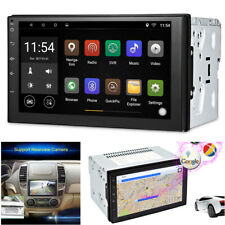 7'' TFT Android 6.0  2-DIN Navi Sat Nav Car SUV GPS Stereo Radio WiFi MP5 Player