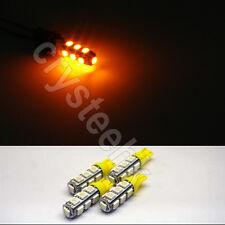 4 x T10 194,168,2825, 13 x 5050 SMD LED Yellow Super Bright Car Lights Lamp Bulb