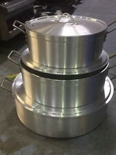 More details for aluminium stock pot  for rice, biryanis  - commercial quality