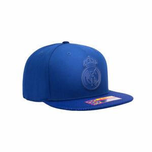 Real Madrid Premium Blue Flat Peak Snapback Elite Baseball Hat Official