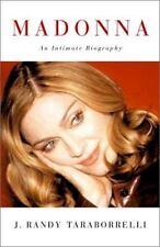 Madonna Music Early Biography 2001 First Ed Randy Taraborrelli Photos