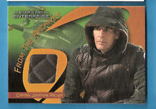 SCOTT BAKULA CAPTAIN ARCHER WORN COSTUME RELIC CARD STAR TREK ENTERPRISE NCIS NO