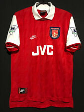 1995-96 Arsenal Home Shirt Bergkamp #10 In All Sizes S M L XL XXL By Nike