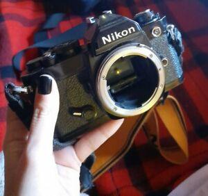 Nikon fm + regalo