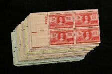 US STAMPS PLATE BLOCKS - **FANTASTIC** - Collection of Vintage 3c Mint NH OG
