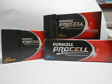 10 Duracell Procell AA batteries Industrial professional alkaline