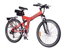 E-Bikes in Rot