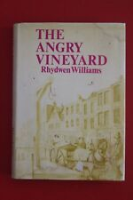 *RARE* THE ANGRY VINEYARD by Rhydwen Williams (Hardcover/DJ, 1975)