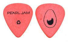 Pearl Jam Stone Gossard Avocado Orange Guitar Pick - 2006 North American Tour