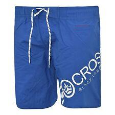 Hombre Crosshatch Diseñador Shorts de baño NUEVO Forrado Con Malla Casual playa