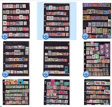 World Stamp collection, Old and New Stamps. nice sets. 395 stamps