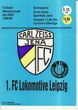 OL 88/89 FC Carl Zeiss Jena - 1. FC Lok Lipsia, RS-C