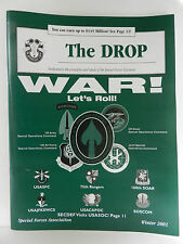 """""""GREEN BERET"""" THE DROP MAGAZINE, WINTER 2001 ISSUE, SPECIAL FORCES ASSOCIATION"""