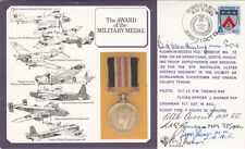 DM6 The Award of the Military Medal to Airman Signed by 4 Military Medal holders