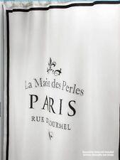 Shower Curtain fabric Paris  fabric Shower Curtain