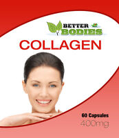 Collagen Marine 400mg Capsules Healthy Skin Anti Ageing Tissue Joints