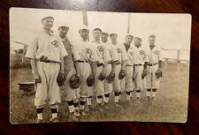 BASEBALL TEAM KEWAUNEE WISCONSIN WI REAL Photo Postcard 1911 ALL WITH GLOVES