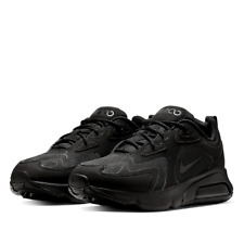 Nike Air Max 200 sneakers triple black, US Mens Size 11 (AU Size 10), RRP $170