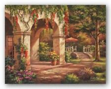 Arch Courtyard II Sung Kim Asian Art Print 28x22