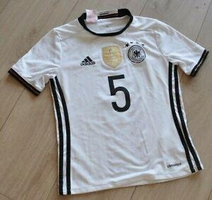 Trikot Adidas Fußball Deutschland Nationalmannschaft, Gr. 140, Kinder, Hummels