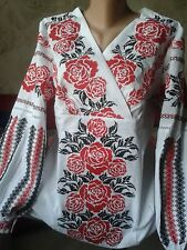Ukrainian embroidery, embroidered blouse, XS - 3XL