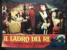 FOTOBUSTA CINEMA - IL LADRO DEL RE - ANN BLYTH - 1955 - AVVENTURA - 09