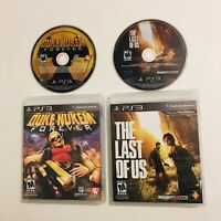 PS3 Game Lot The Last of Us & Duke Nukem Forever Sony PlayStation 3 Video Games
