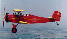 Giant 1/5 Scale Fleet Model 1 Biplane Plans, Templates, Instructions