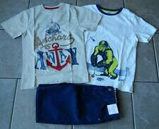 Size 10 years outfit Gymboree,3 pc. set,shorts,T-shirts,NWT,anchors