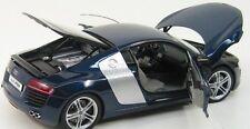 Audi R8 Kyosho 1:18 No. 09213BL Blue NEW