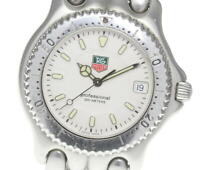 TAG HEUER S/el WG1112-K0 White Dial Quartz Men's Watch_611441
