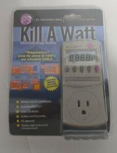 P3 International Kill A Watt Electricity Usage Monitor P4400.01  ~! Brand New !~