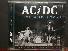 AC/DC - Cleveland Rocks CD SEALED Agora '77 broadcast