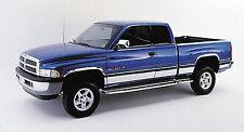 "fit:1994-1997 Dodge Ram Regular Cab Short Bed Rocker Panel Trim 8.5"" Stainless"