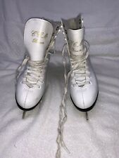 Ccm Pirouette Sp Girl's - Youth Ice Figure Skates Size 2 white