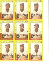 9 CARD FERGIE JENKINS SWELL GREATS BASEBALL CARD LOT            85