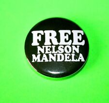 FREE NELSON MANDELA RUDE BOY SKA TWO 2 TONE BUTTON PIN BADGE THE SPECIALS