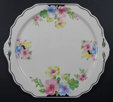 "New Price - The Harker Pottery Co. 12"" Floral Plate"