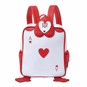 Loungefly Alice In Wonderland Backpack Card Soldiers The Ace 70 years FedEx F/S