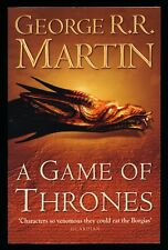 New - A GAME OF THRONES - George R. R. Martin - BOOK - A Song Of Ice And Fire