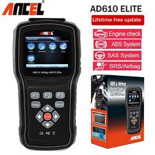 Automative AD610 Elite ABS SAS Airbag SRS Reset Code Reader Scanner Diagnostic