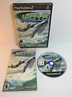 Wave Rally Sony PlayStation 2 PS2 Complete CIB VERY Fast Shipping Worldwide!!!