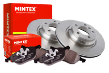 VW PASSAT 2005-2011 1.4 1.6 1.8 1.9 2.0 TDi FRONT MINTEX BRAKE DISCS AND PADS