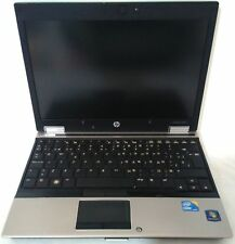 "NOTEBOOK PC PORTATILE HP ELITEBOOK i5 HDD 250GB RAM 4GB WIN 7 PRO 12"" POLLICI"