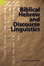 Biblical Hebrew and Discourse Linguistics (1994, Paperback)