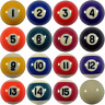 "New  Mini 1.5"" (1 1/2"") Replacement Billiard Pool Balls - All Numbers Available"