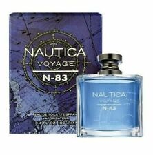 Nautica Voyage N-83 Men 3.3 3.4 oz 100 ml Eau De Toilette Spray NIB Sealed