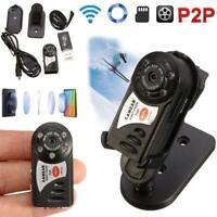 1080P Mini Q7 Wifi Camera Security Hidden Wireless IP Night Vision Monitor US